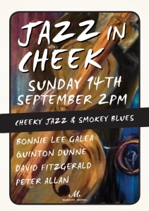 jazz in cheek poster - marion