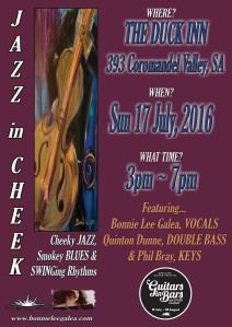 2016 JAZZ in CHEEK The duck Inn flat